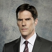 Aaron Hotchner played by Thomas Gibson