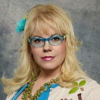 Penelope Garcia played by Kirsten Vangsness