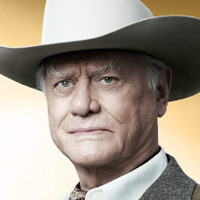 J.R. Ewing played by Larry Hagman