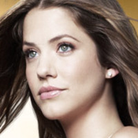 Rebecca Sutter played by Julie Gonzalo