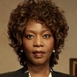 Lt. Tanya Rice played by Alfre Woodard