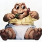Baby Sinclair played by Kevin Clash