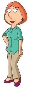 Lois Griffin She Is The Wife Of Peter And Mother Meg Rainpow
