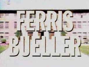 Ferris Bueller tv show photo