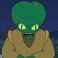 Morbo played by Maurice LaMarche