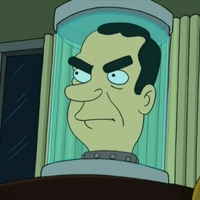 President Richard Nixon's Headplayed by Billy West