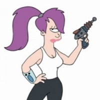 Turanga Leela played by Katey Sagal