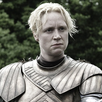 Brienne of Tarth played by Gwendoline Christie