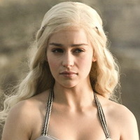 Daenerys Targaryen played by Emilia Clarke