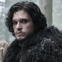 Jon Snow played by Kit Harington