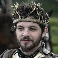 Renly Baratheon played by Gethin Anthony