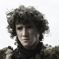 Rickon Stark played by Art Parkinson
