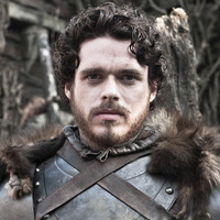 Robb Stark played by Richard Madden
