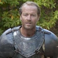 Ser Jorah Mormont played by Iain Glen
