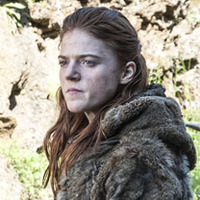 Ygritte played by Rose Leslie