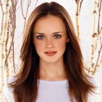 Rory Gilmore played by Alexis Bledel