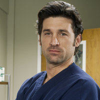 Dr. Derek Shepherd played by Patrick Dempsey