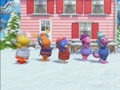 The backyardigans 02x07 the secret of snow