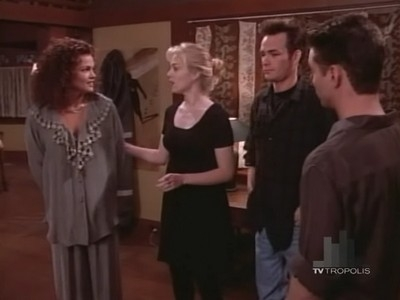 Beverly Hills, 90210 - 04x23 A Pig Is a Boy Is a Dog