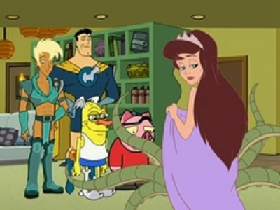 Drawn Together - 01x02 Clara's Dirty Little Secret