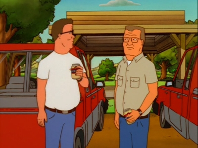 King of the Hill - 04x08 Not in My Back Hoe