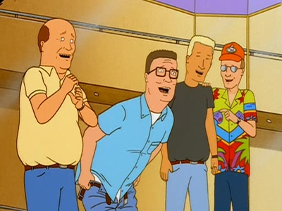 King of the Hill - 05x11 Hank and the Great Glass Elevator
