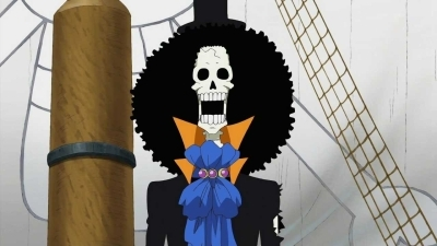 One Piece (JP) - 13x03 Brook's Hard Struggle - The Difficult Path to Becoming a True Crewmate?