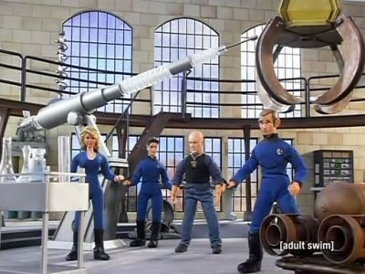 Robot Chicken - 03x18 Monstourage
