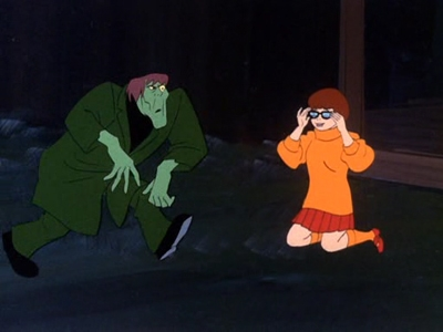 Scooby-Doo, Where Are You! - 02x03 Jeepers It's the Creeper