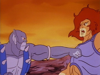 Thundercats  Episode on Thundercats 1x37 Lion O S Anointment First Day  Trial Of Strength