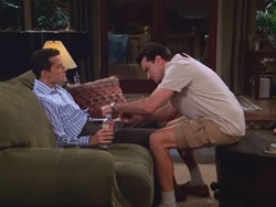 Two and a Half Men - 03x03 Carpet Burns and a Bite Mark