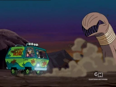 What's New Scooby-Doo? - 02x03 The Fast and the Wormious