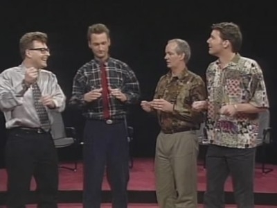 Whose Line Is It Anyway? (UK) - 04x07 Greg Proops, Ryan Stiles, Colin Mochrie, Brad Sherwood