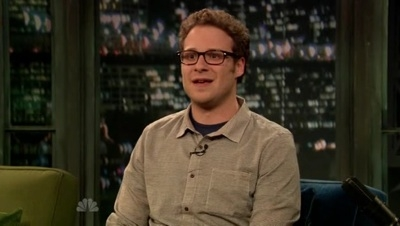 Late Night with Jimmy Fallon - 01x24 Seth Rogen, Leighton Meester, Dr. Dog