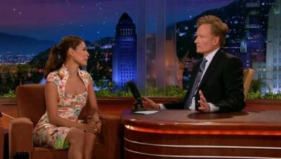 The Tonight Show with Conan O'Brien - 01x108 Eva Mendes, Jon Bon Jovi, Bon Jovi