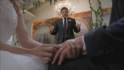 Supernatural - 07x08 Season 7, Time for a Wedding!