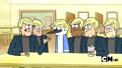 Regular Show - 03x02 Bet to Be Blonde