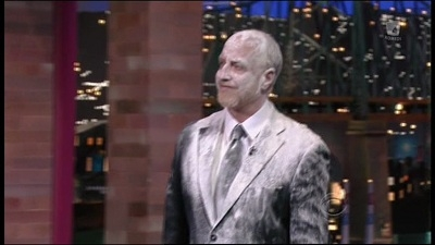 Late Show with David Letterman - 19x47 Chris Elliott, Mohamed Nasheed, Justin Townes Earle