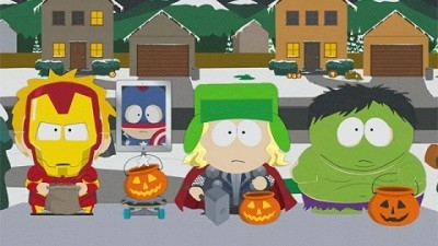 South Park - 16x12 A Nightmare On Face Time