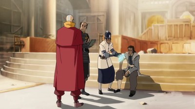 The Legend of Korra - 01x09 Out of the Past