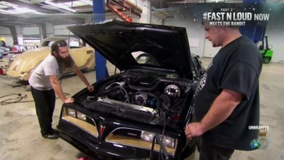 Fast 'n' Loud - 04x13 Gas Monkey Bandit Car – Part 2