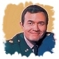 Major Roger Healey played by Bill Daily