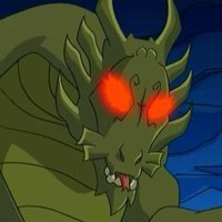 Shendu the Fire Demon played by James Sie
