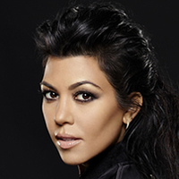 Kourtney Kardashian played by Kourtney Kardashian