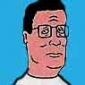 Hank Hill played by Mike Judge