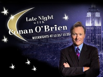 Late Night with Conan O'Brien tv show photo