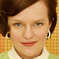 Peggy Olson played by Elisabeth Moss