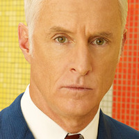 Roger Sterling played by John Slattery