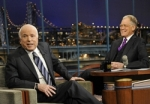 Late Show with David Letterman Sen. John McCain, Bon Iver