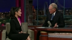 Late Show with David Letterman Salma Hayek, Jimmie Walker